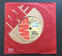 """FATHER ABRAHAM - The Smurf Song 7"""" Vinyl Single Record 45 GD+ 1977 Smurfs"""