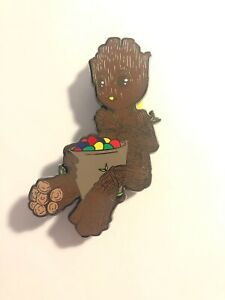 Disney Guardians Of The Galaxy Groot Eating Candy Fantasy Pin 3 Inch LE