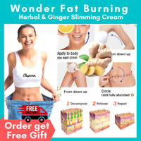 30 Anti Fat Slimming Gel Cream Cellulite Body Weight Loss Burning Burner Ginger
