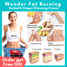 30 Anti Fat Slimming Gel Cream Cellulite Body Weight Loss Burning Burner Ginger