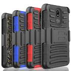 For LG Aristo 2/X Power 3/K40/K10/V50/Q7 Shockproof Rugged Belt Clip Case Cover