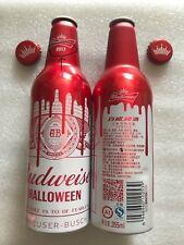 """2017 China Budweiser Beer """"Halloween"""" 355ml Empty Aluminum Bottle"""