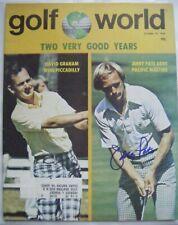 JERRY PATE signed 1976 GOLF WORLD magazine Autographed AUTO ALABAMA CRIMSON TIDE