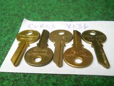 Curtis Key Blank Y-136 Fits Yale 999T TB12 20Z  Lot of 5