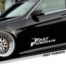 The Fast and The Furious Vinyl Reflective Car Auto Logo Decal Sticker Automobile