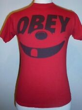 Smile OBEY cartoon face T-shirt