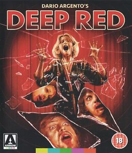 DEEP RED (1975) dir: Dario Argento / Blu-ray / Arrow Video / Mint, as new