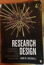 Research Design, 4th Edition by John W. Creswell (paperback, 2014)