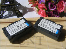 2x 7.2V 1100mAh Li-Ion Battery for Panasonic VDR-M10 PV-DBP8 PV-DBP8A PV-DAC11