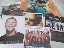 METALLICA 1998-2009_Hammett_Ulrich_Hetfield_Trujillo_italian clippings_articoli