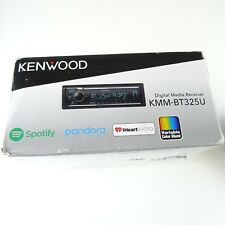 Kenwood KMM-BT325U Digital Media Receiver with Bluetooth USB and AUX IN