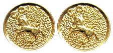 Gold Colt Medallions 1/2 Inch