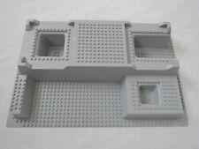 LEGO 3D Platte Ritterburg Polizeistation 51542 hellgrau  32x48x6  7892 7237   OS