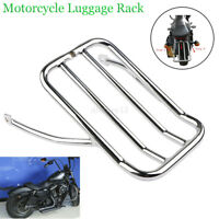 Moto Chrome Porte-bagages Arrière Bagage Support Pour Harley Sportster 883 1200