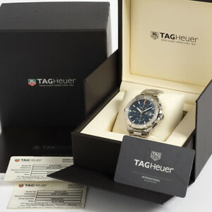 Tag Heuer Aquaracer ref CAY2112/2. Complete Set. Outstanding Condition.