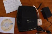 Westell VersaLink 327w Modem Wireless Router w/ Power Supply (D90-327W14-06)