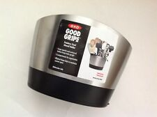 New OXO Good Grips Stainless Steel Utensil Holder with Removable Base