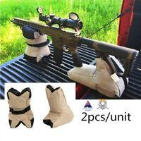 Gun Rest Tactical Filled Bag Set Stable Shooting Platform