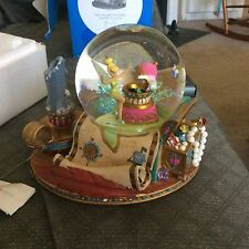Disney Store Tinkerbell Musical Snowglobe (water globe) Plays You Can Fly