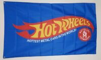 Hot Wheels Banner 3x5 Ft Flag Mattel Toys Garage Wall Decor Die-Cast Collectible