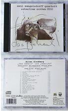 EMIL MANGELSDORFF QUARTETT & SEBASTIAN NORDEN Geheul / Amerika .. 1999 CD TOP