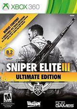 Sniper Elite III: Ultimate Edition XBOX360 - BRAND NEW