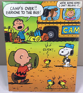 1971 Peanuts Puzzle Camp's Over 63 Large pieces Charlie Brown Snoopy Linus NEW