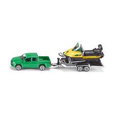 SIKU 2548 VW AMAROK verde con remolque y MOTO de nieve Escala 1:55 NUEVO! °