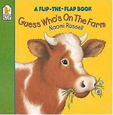 Guess Who's on the Farm: A Flip-the-Flap Book Russell, Naomi Paperback