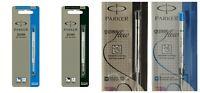 Parker Quink Flow Ball Point Ball Pen - BP Refill FINE/MEDIUM- Black/Blue Refil