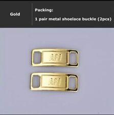 gold lace locks af1 | eBay