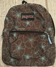 "JanSport Student Backpack Book Bag School Hiking Brown Daypack Laptop Gym 15.5"""