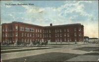 Rochester MN The Kahler Hotel Horse Wagons c1910 Postcard