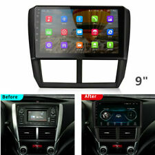 Android 9.1 1GB+16GB 9'' Car Stereo Radio GPS Navi For 2008-2012 Subaru Forester