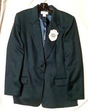 "vintage Pendleton wool ""Oregon Women'S Golf Assn"" jacket, size 14, dark green"