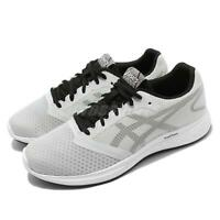 Asics Patriot 10 Grey Black Men Running Training Shoes Sneakers 1011A131-023