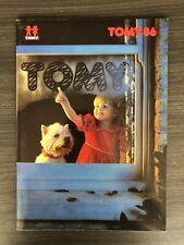 1986 Tomy Toy Fair Catalog Zoids R.A.T.S. Very Rare