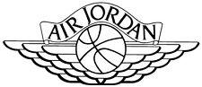 """Jordan 1 Wings Vinyl Decal 8"""" x 3.4"""""""