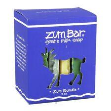 Zum Soap Bar Bundle Boxed Gift Set Indigo Wild NEW natural sample organic clean