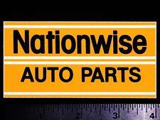 Nationwise Auto Parts - Original Vintage 1970's Racing Decal/Sticker