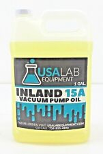 Inland 15A Vacuum Pump Oil 128oz  1 Gallon for Leybold Sogevac    LVO110 GD32