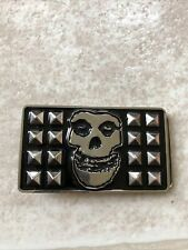 Face Belt Buckle cyclopian music Inc Rare Misfits 2008 Crimson Ghost Skull