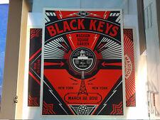 Shepard Fairey - Black Keys New York City - 3/22/2012 - Screen Print, OBEY, Art