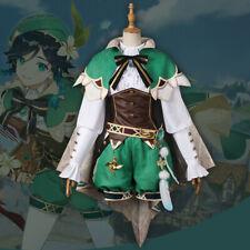 Genshin Auswirkungen Impact Spiel Game Venti Cosplay Kostüm Costume