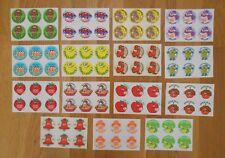 TREND 90 VINTAGE SCRATCH & SNIFF Stickers MATTE 1980's Mint 15 Scents Set # 4