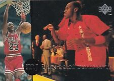 CHICAGO BULLS MICHAEL JORDAN 1994 UPPER DECK RARE AIR #63 DECADE OF DOMINANCE