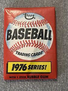 1976 Topps Baseball Pack