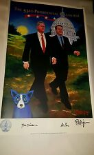 "George Rodrigue ""Walking into the 21st Century"" presidential edition 1000."