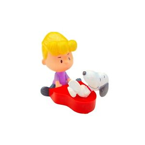 Peanuts Schroeder Snoopy Figurine Spinning On Piano McDonalds Happy Meal Toy