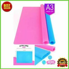 2 Pack Resin Casting Molds A3 Extra Large Silicone Mat Sheet For Crafts Jewelry